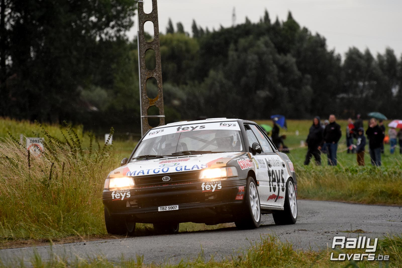 TAC Rally - Historic BRC - Paul Lietaer favoriet, maar de concurrentie is sterk
