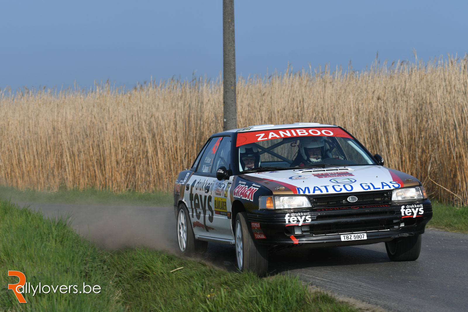 TAC Rally - Historic BRC - Paul Lietaer oppermachtig