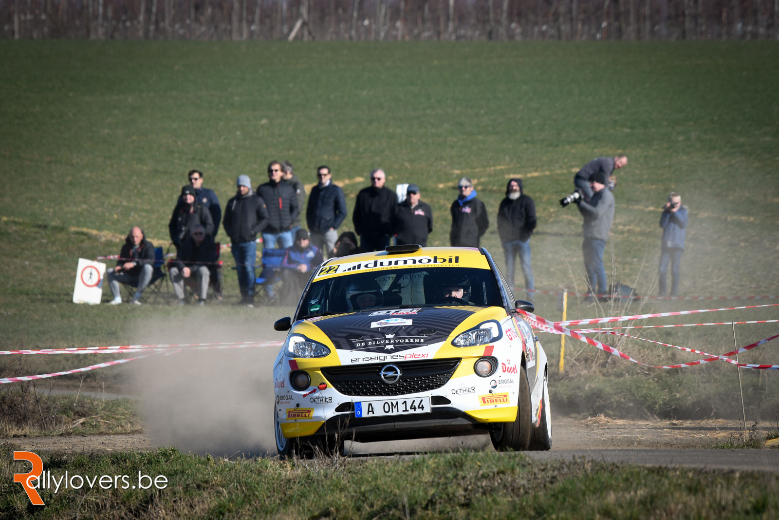Spa Rally - Pirelli Junior BRC - Grégoire Munster in het ritme