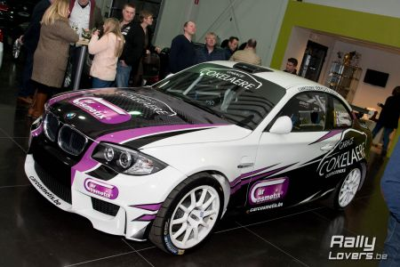 Voorstelling BMW 1M Thierry Cokelare