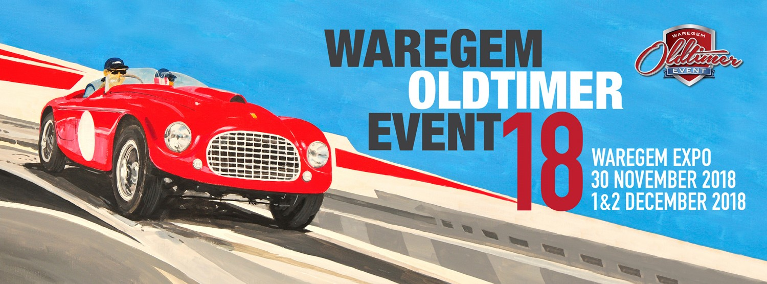 Waregem Oldtimer Event op 30 november, 1 en 2 december in Waregem Expo