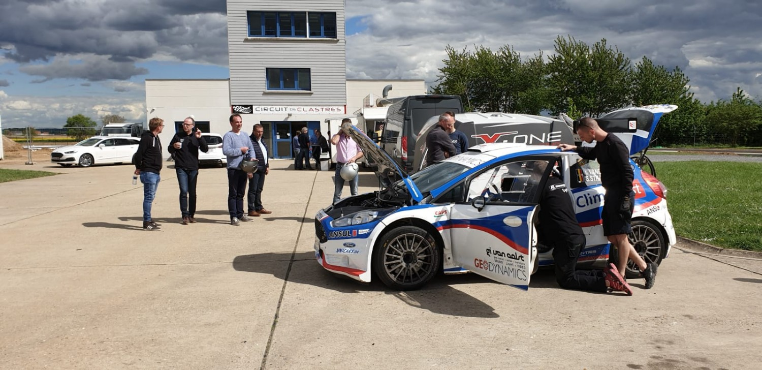 SV Racing demonstreert Ford Fiesta R5 EVO 2 op testdag