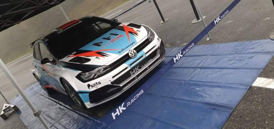 Maxime Potty met VW Polo R5 in Condroz Rally